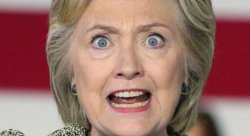 Hillary Crazy Eyes Meme Template