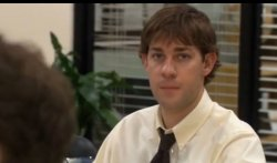 The Office - Jim looking at Camera Meme Template