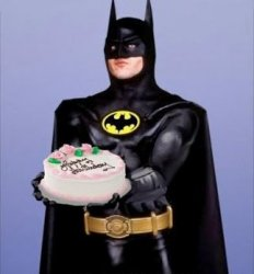 Batman birthday cake Meme Template
