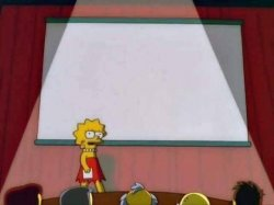 Lisa Simpson Speech Meme Template