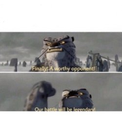 Our Battle will be Legendary! Meme Template