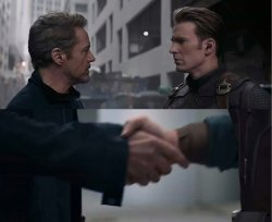 Captain America Elevator Meme Format