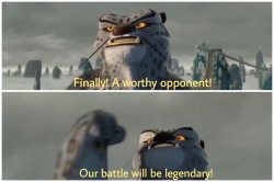 Our Battle Will Be Legendary Meme Template