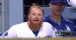 Justin Turner Shocked Meme Template