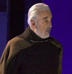 Surpirsed Dooku Meme Template