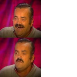 Risitas ok & not ok Meme Template