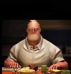 Mr Incredible Annoyed Meme Template