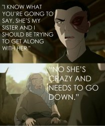 Iroh she is crazy and needs to go down Meme Template