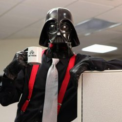 Darth Vader Office Space Meme Template