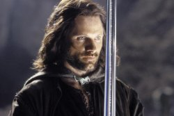aragorn with sword Meme Template