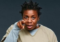 Crazy Eyes Meme Template