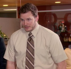 Chris Pratt - The Office Meme Template