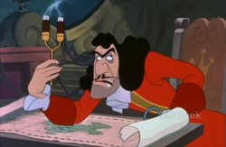 Captain Hook Annoyed Meme Template