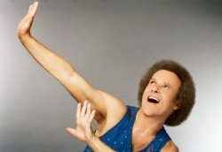Richard Simmons Birthday Meme Template