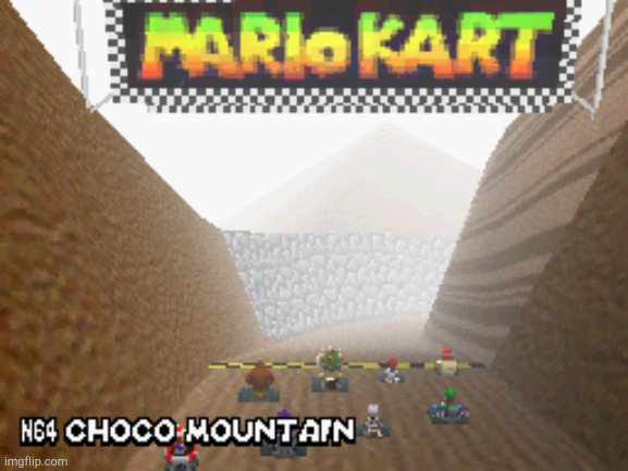 Choco Mountain | image tagged in choco mountain | made w/ Imgflip meme maker