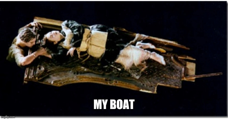 MY BOAT | made w/ Imgflip meme maker