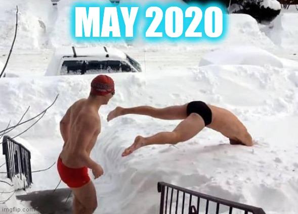 Snow Swimming Latest Memes Imgflip