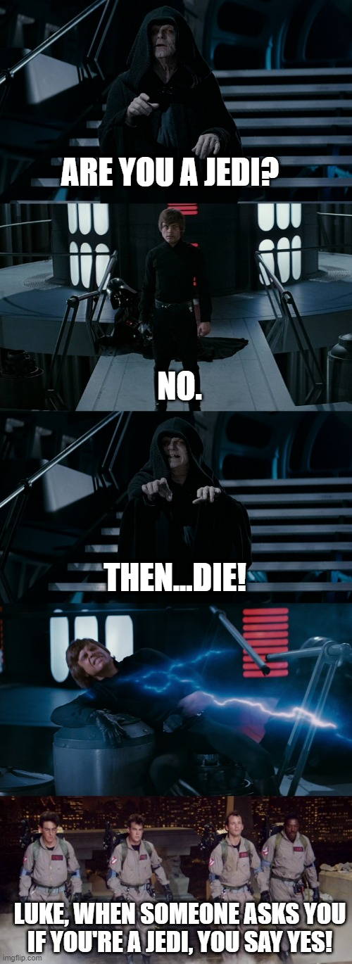 """Return of the Jedi"" Meets ""Ghostbusters"" 