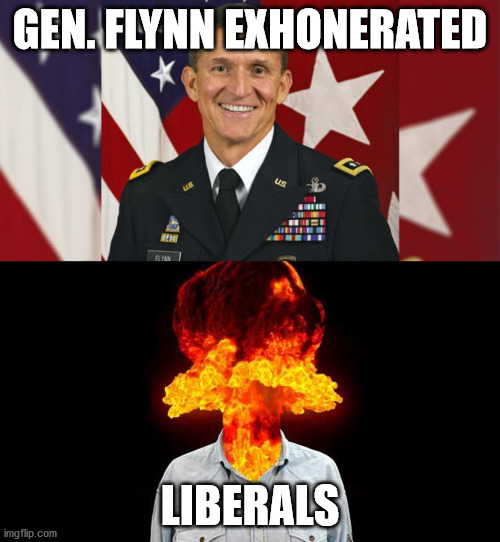 Gen. Flynn freed. Liberals reaction. - Imgflip