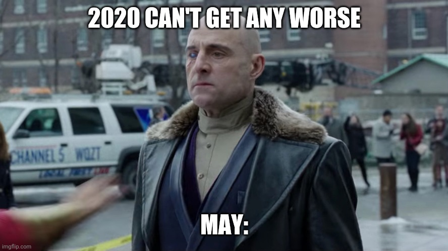 Dr sivana appears 2020 can't get any worse |  2020 CAN'T GET ANY WORSE; MAY: | image tagged in shazam,dc comics,2020,memes,funny,movies | made w/ Imgflip meme maker