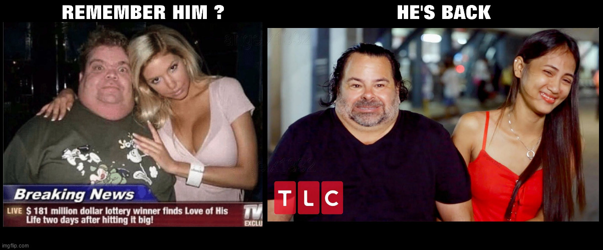 Image Tagged In Lottery Tlc No Neck Ed 90 Day Fiance Big Ed Rose