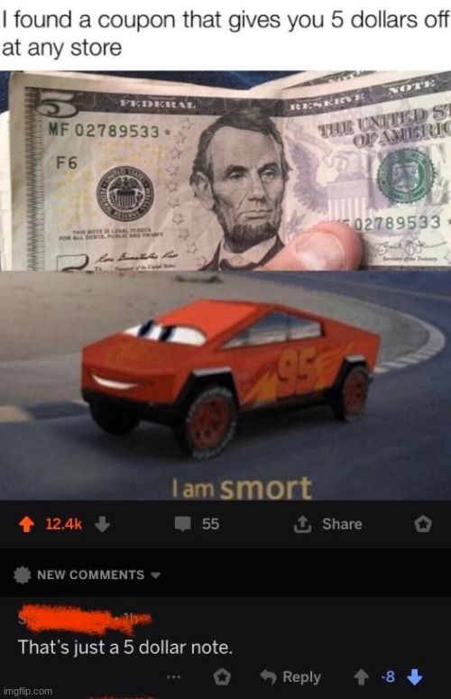 thanks for 2000 points here is somthing special | image tagged in tesla truck,abraham lincoln,money | made w/ Imgflip meme maker