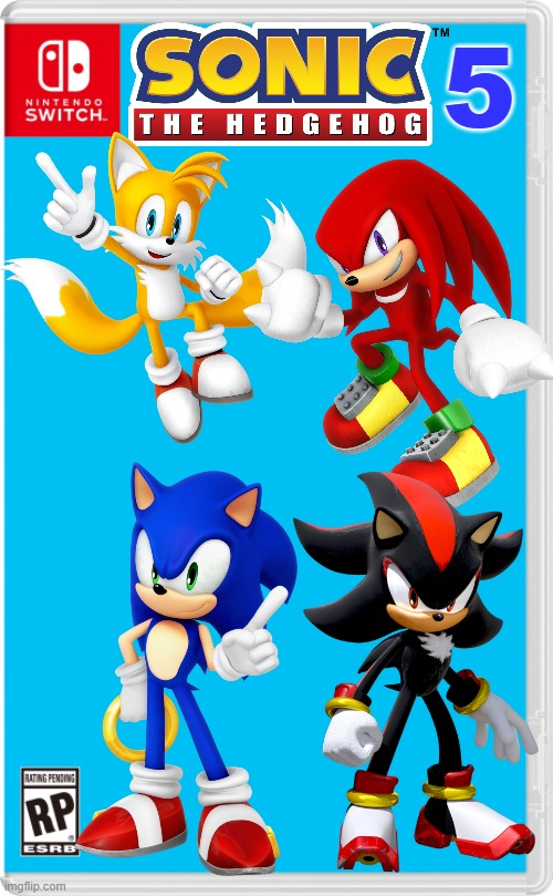 The All New Sonic Sequel Imgflip