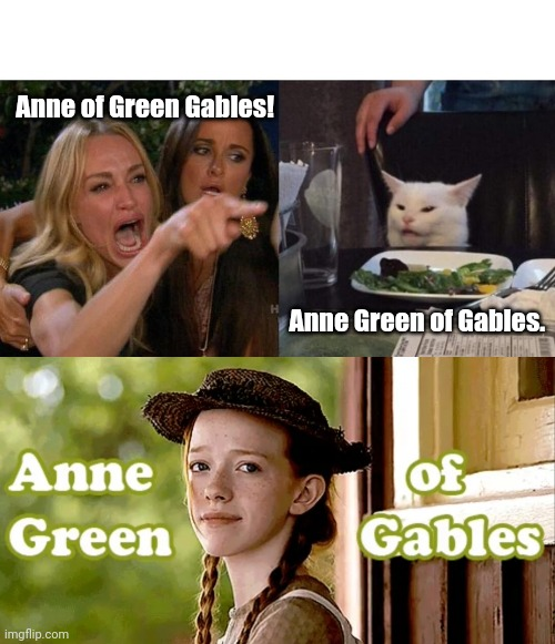"That's ""Anne"" with an ""E"" 