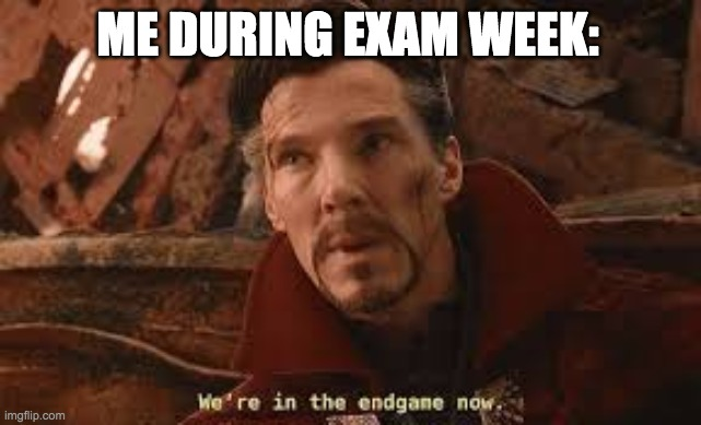 ME DURING EXAM WEEK: | image tagged in school,tests,exams,finals | made w/ Imgflip meme maker