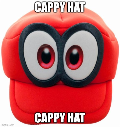 Cappy | CAPPY HAT CAPPY HAT | image tagged in cappy | made w/ Imgflip meme maker