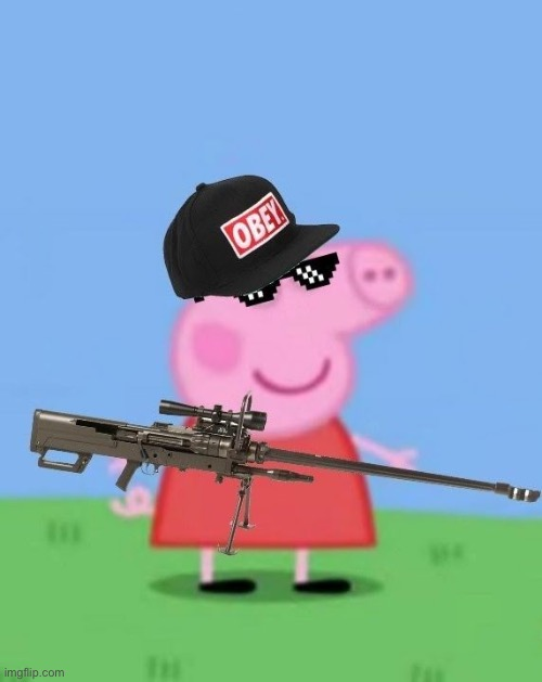 Mlg peppa pig | image tagged in mlg peppa pig | made w/ Imgflip meme maker