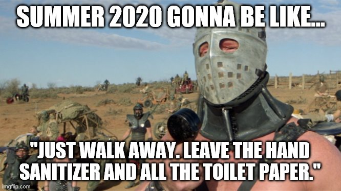 """Just Walk Away..."" 