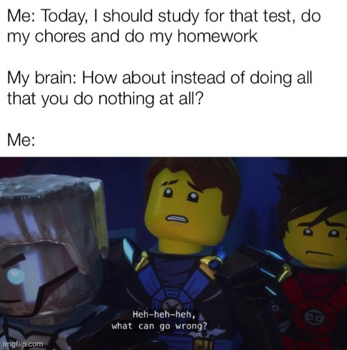 Jay has it right | image tagged in ninjago,lego,school,jay,funny | made w/ Imgflip meme maker