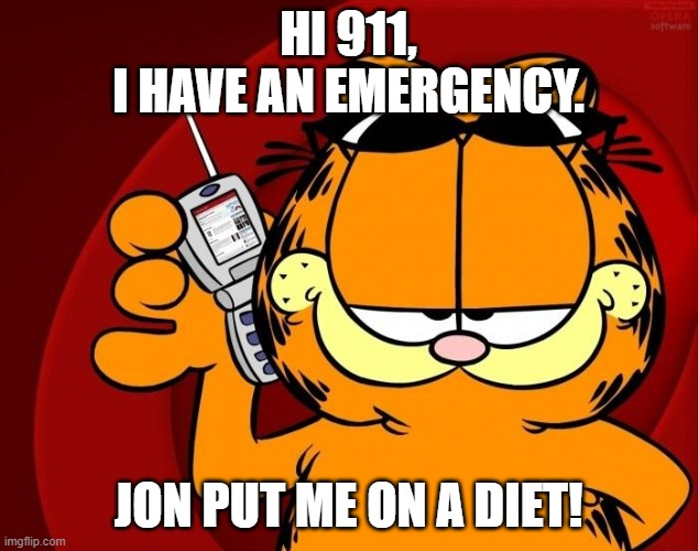 Image Tagged In Garfield Is Speaking Imgflip