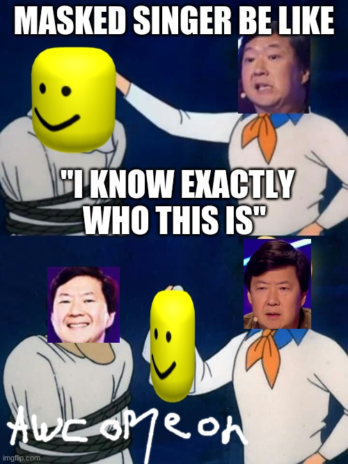 "Scooby doo mask reveal |  MASKED SINGER BE LIKE; ""I KNOW EXACTLY WHO THIS IS"" 