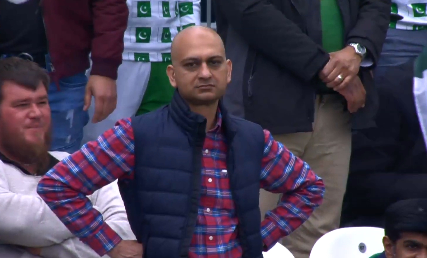 Disappointed Cricket Fan Blank Template - Imgflip