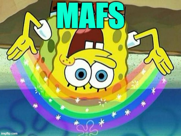 spongebob rainbow - Imgflip