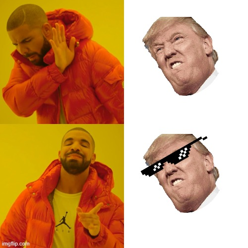 Sunglasses rule | image tagged in memes,drake hotline bling | made w/ Imgflip meme maker