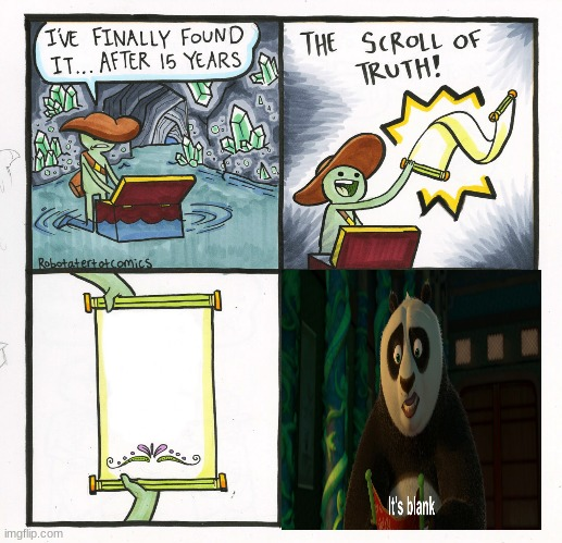 Crossover meme | image tagged in memes,the scroll of truth | made w/ Imgflip meme maker