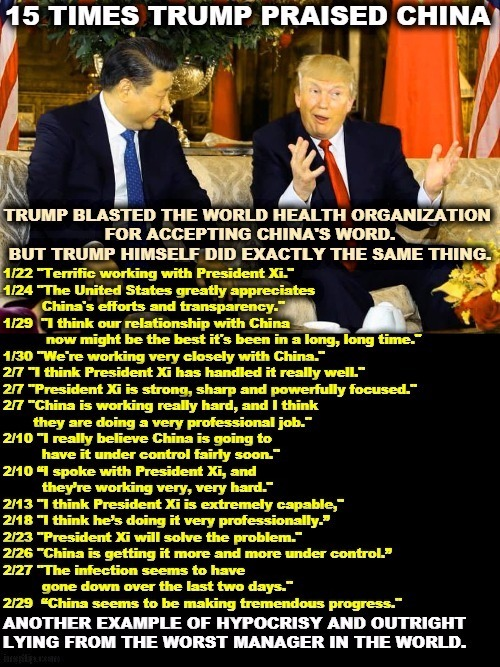 Donald Trump was soft on China when it mattered. Attacking ...