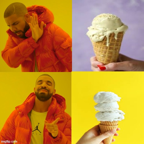 yes | image tagged in ice cream | made w/ Imgflip meme maker