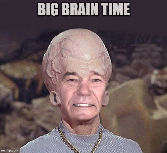 big brain |  BIG BRAIN TIME | image tagged in kewlew,big,brain | made w/ Imgflip meme maker