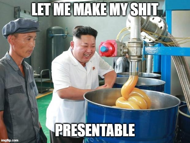 Corp meme | image tagged in corporate,kim jong un,presentation | made w/ Imgflip meme maker