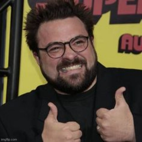 kevin smith thumbs up | image tagged in kevin smith thumbs up | made w/ Imgflip meme maker