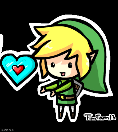 link in love | image tagged in link in love | made w/ Imgflip meme maker