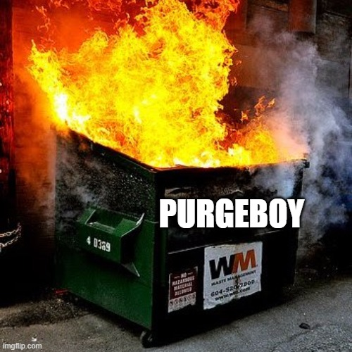 PURGEBOY | made w/ Imgflip meme maker