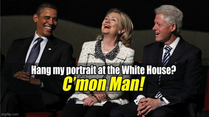 Obama To Skip His Presidential Portrait Unveiling At The White House | image tagged in obama,memes,politics,donald trump,hillary clinton,bill clinton | made w/ Imgflip meme maker