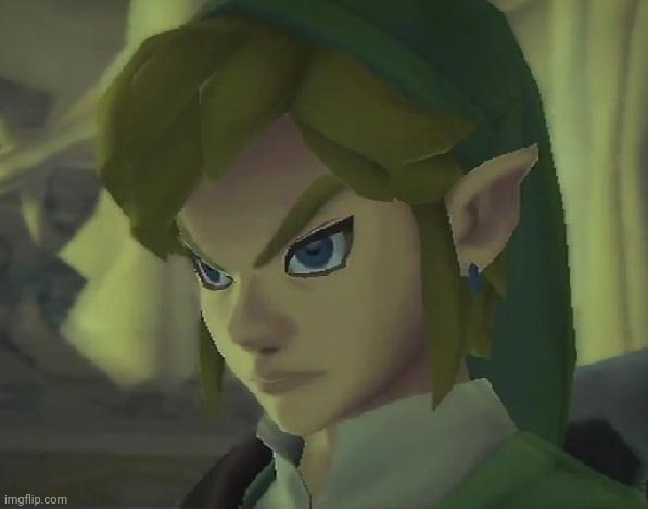 Angry Link | image tagged in angry link | made w/ Imgflip meme maker