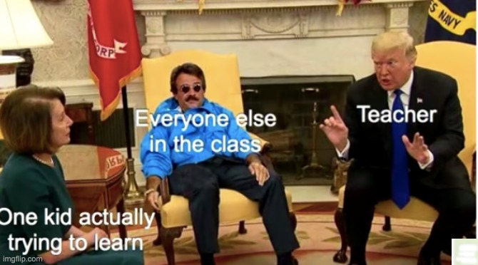 Zoom class |  TEACHER; EVERYONE ELSE IN THE CLASS; ONE KID ACTUALLY TRYING TO LEARN | image tagged in zoom,memes,funny,frontpage | made w/ Imgflip meme maker