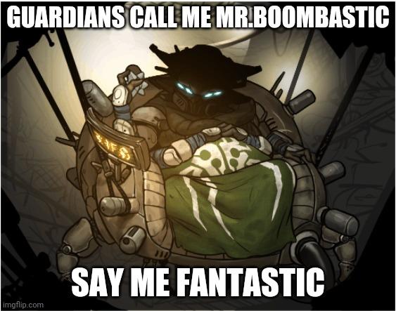 The spider. Mr.bombastic